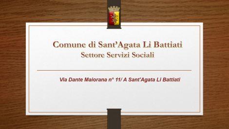 Servizi Sociali Sant'Agata Li Battiati