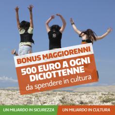 Come avere i 500 euro del Bonus Maggiorenni e 80 euro ai lavoratori delle Forze dell'Ordine