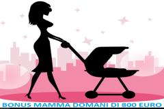 Risultati immagini per Premio alla natalità mamma domani