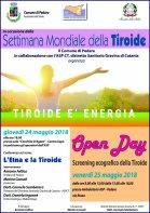 Open day Tiroide Pedara maggio 2018